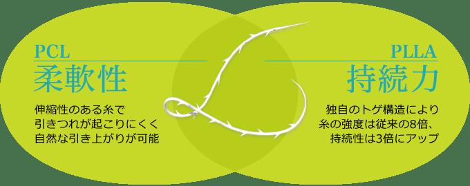 新宿ラクル美容外科クリニック 山本厚志 「ミントリフトⅡminiS flex(シークレットリフト)」