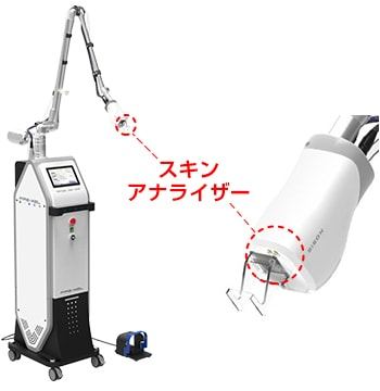 フラクショナルCO2レーザー(FIRE-XEL)機械イメージ
